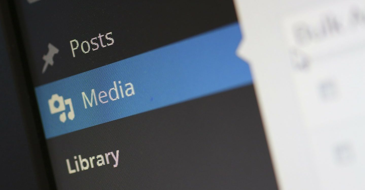 WordPressのメディアメニュー